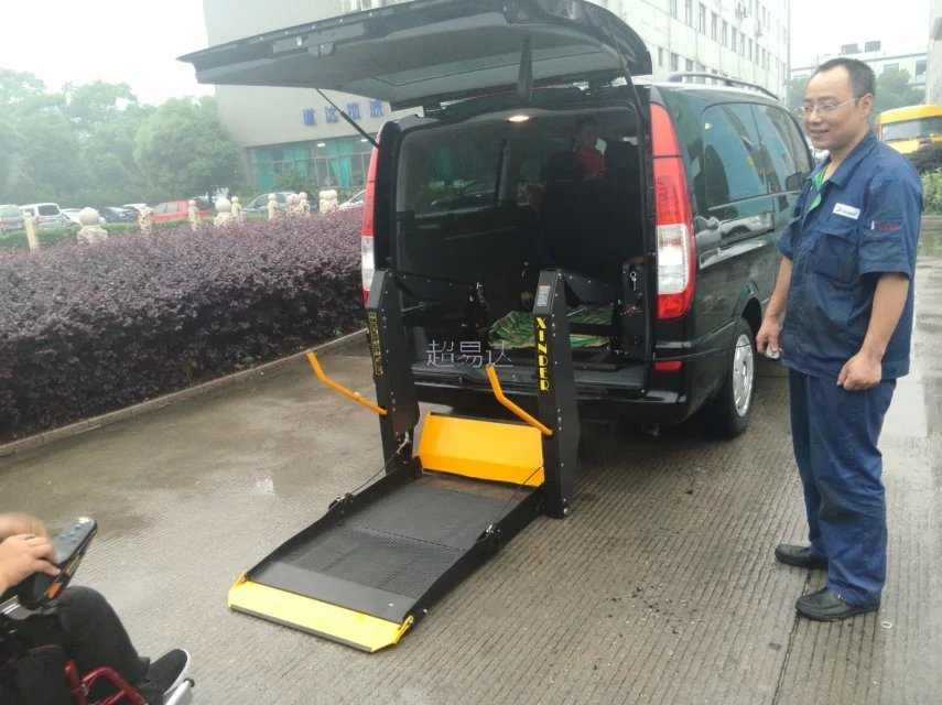 商务车车载轮椅升降平台